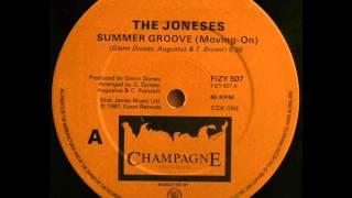 The Joneses     Summer Groove