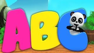 Learn Alphabets For Kids | Preschool Videos For Children | Alphabets Song By Baby Bao Panda