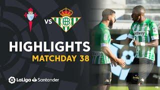 Resumen de RC Celta vs Real Betis (2-3)