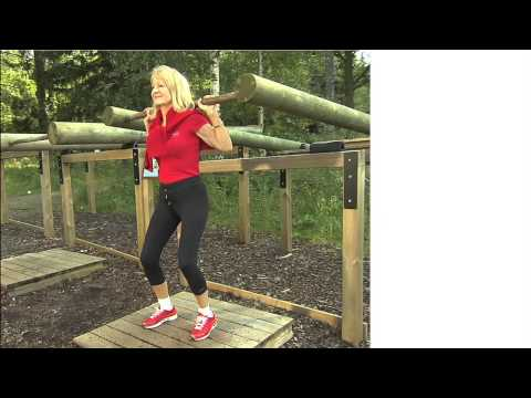 By improving your strength and balance you reduce fall and fall injury risks. In the film Alexandra Charles demonstrates four ways to train in everyday situations. Train properly in old age and maintain your health!
