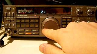 KENWOOD TS-450S/AT HF TRANSCEIVER - ALPHA TELECOM - Yvo Muniz