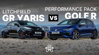 VW Golf R Performance Pack vs. Litchfield GR Yaris | PistonHeads