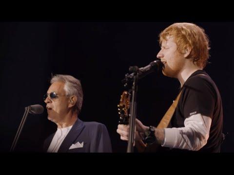 Perfect symphony -  Ed Sheeran ft Andrea Bocelli live at Wembley stadium
