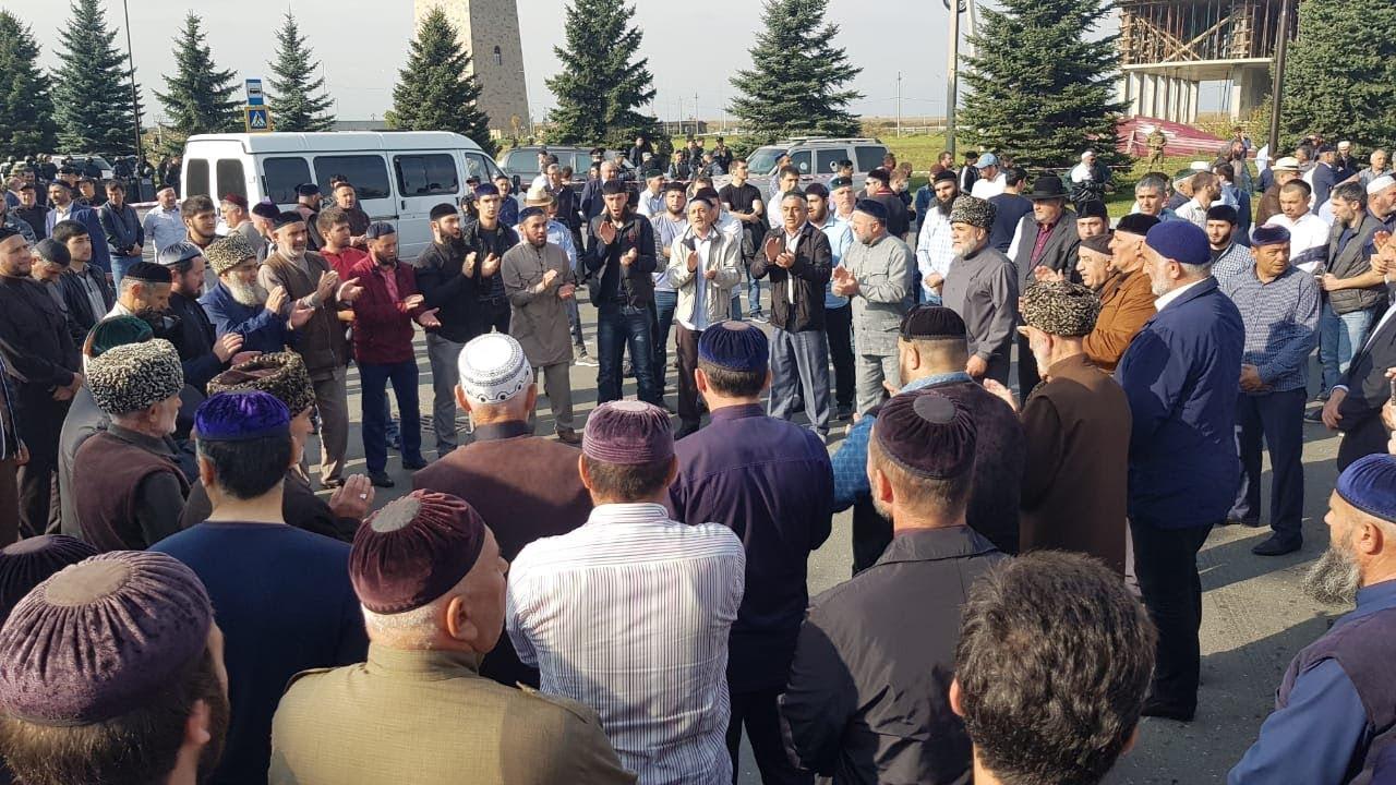 Ингуши подняли бунт против соглашения Евкурова с Кадыровым
