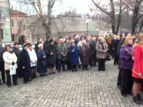 У Чернівцях вшанували пам'ять людей, які померли від голоду 1932-1933 років