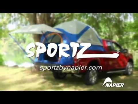 Sportz Truck Tent 57 Setup Video