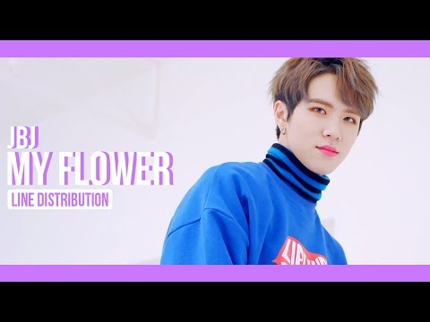 JBJ - My Flower Line Distribution (Color Coded) | 제이비제이 - 꽃이야