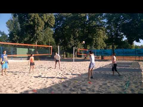 Beach Centrum - trénink začátečníků 2.7.2015