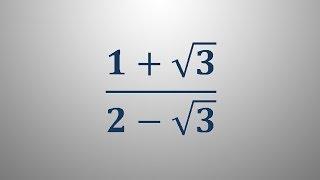 Racionalizacija imenovalca 3