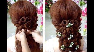 Hướng dẫn bới tóc cô dâu nhẹ nhàng quyến rũ