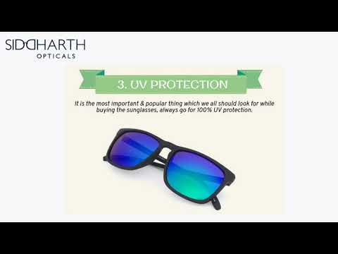 5 Secret Features You Should Look In Sunglasses