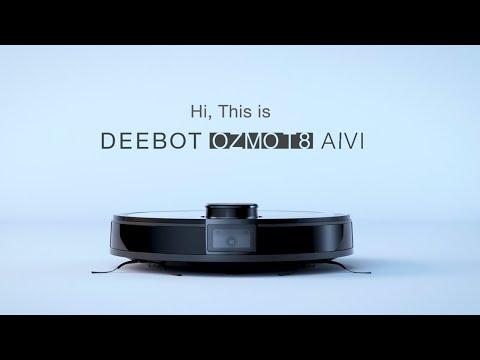 video DEEBOT OZMO T8 AIVI