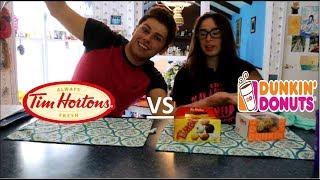 Tim Hortons vs. Dunkin' Donuts: The Taste Test