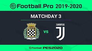 ESPORTS | Boavista FC v Juventus 🎮? | PES 2020 eFootball.Pro League⚽?