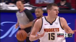 Nikola Jokić highlights (21 points) in loss to Portland Trail Blazers (05/16/2021)
