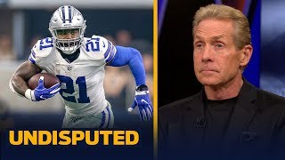 Ezekiel Elliott missing team flight to camp is a 'tricky situation' — Skip | NFL | UNDISPUTED