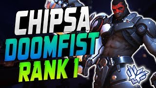 CHIPSA INSANE DOOMFIST! [ OVERWATCH SEASON 14 TOP 500 ]