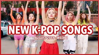 NEW K-POP SONGS   AUGUST 2019 (WEEK 1)