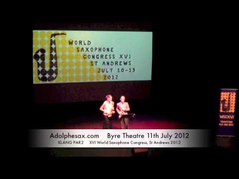 WSCXVI KLANG PAR2   Duo by Amos Gillespie