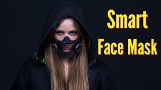 Razer unveils Transparent Smart Face Mask with LEDs, Mic and Speaker | Project Hazel | CES 2021