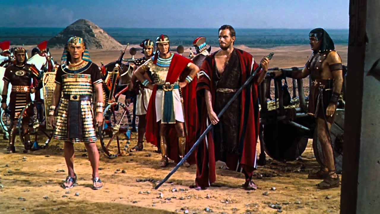 Rameses Banishes Moses (The Ten Commandments, 1956) - YouTube  Moses The Movie Youtube