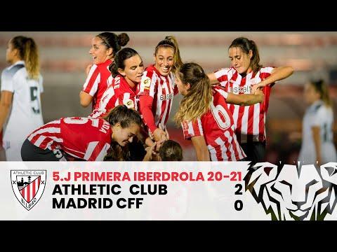 ⚽️ RESUMEN I Athletic Club 2-0 Madrid CFF | J5 Primera Iberdrola 2020-21 I Laburpena