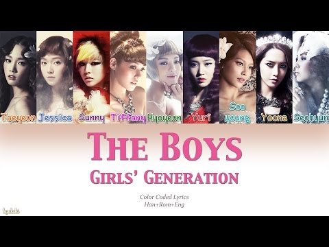 Girls' Generation (소녀시대) – The Boys (Color Coded Lyrics) [Han/Rom/Eng]