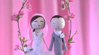 Wedding Cake Topper - ♥ DIY