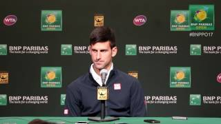 Press Conference: Djokovic Pre-Tournament