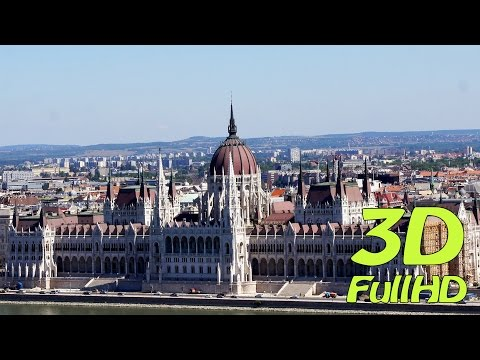 [3DHD] What to see in Budapest, Hungary / Was gibt es in Budapest zu sehen