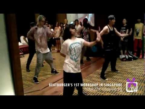 (X)TV!: Beatburger does EXO-K's MAMA & Super Junior's Bonamana Choreography in Singapore Workshop