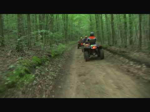 Indian River Michigan ATV Trail