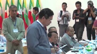 Ethnic Armed Groups and Government Peace Team Meeting