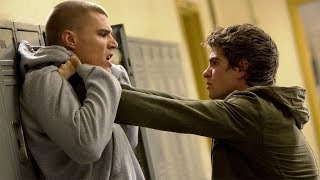 Peter Parker Lifts Flash - High School - After Uncle Ben's Death - The Amazing Spider-Man 2 (2014)