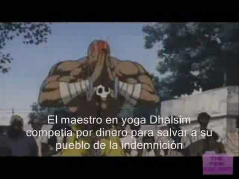 Santaflow   Street Fighter (Letra)