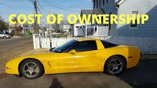C5 Corvette 2 Year Cost of Ownership