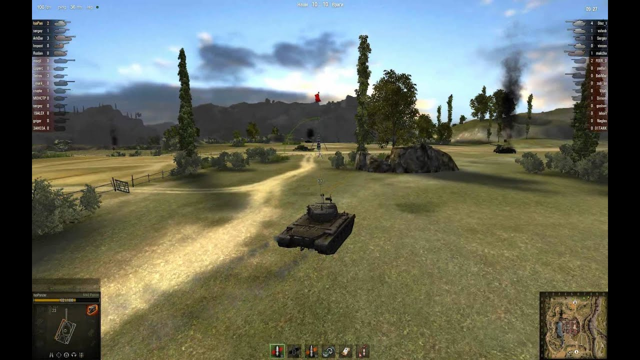 M46 Patton - немного о стоке