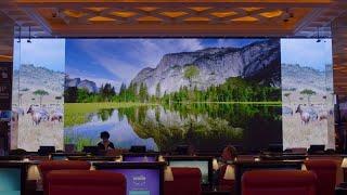Smart LED Signage Creates Visual Centerpiece For Reno's Peppermill Casino