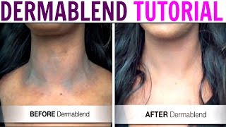 TUTORIAL | How to Apply DERMABLEND Leg and Body Cover