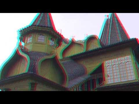 palace of the russian tsar 3d anagliph