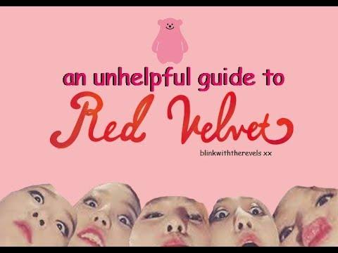 an unhelpful guide to Red Velvet (dududududududu)