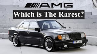 Counting Down The Rarest AMGs Ever Made