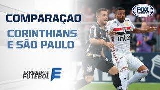 DUELO FOX: CORINTHIANS X SÃO PAULO - O Expediente Futebol comparou posição por posição