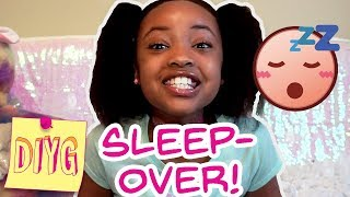 Sleepover Get Ready With Me 🎨 Do It Yourself Girl!