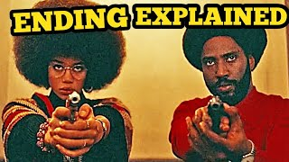 BlackKklansman Ending Explained