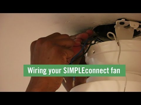 How To: Wire Your SIMPLEconnect Fan