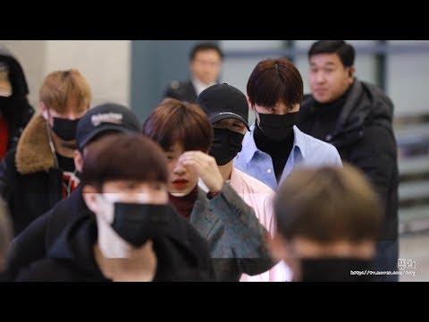 180122 워너원(Wanna One) 강다니엘 (인천공항 입국)