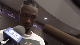 Harry Giles on performance against Andre Drummond in Kings win over Pistons