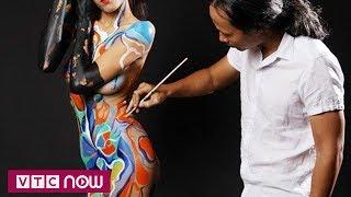 Mong manh chuyện họa sĩ body painting và người mẫu  | VTC Now