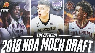 2018 NBA MOCK DRAFT 2.0! | THE BEST DRAFT EVER?!